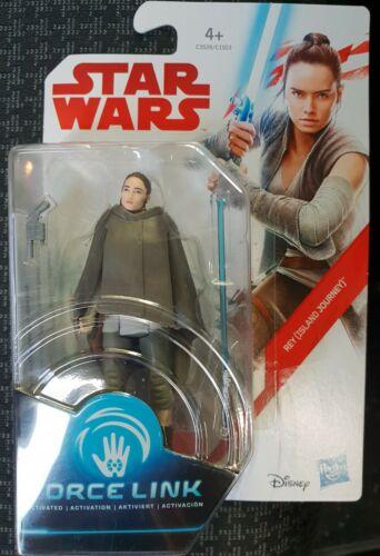 STAR WARS the last jedi figurine star wars REY Force Link neuf
