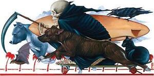 Rimada Misfits STICKER Decal Gustavo Grim Reaper Surfboard Cat Dog Crow G47
