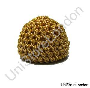 Buttons-Crochet-Button-Gold-25mm-Uniform-Accessories-Sold-Single-R1473