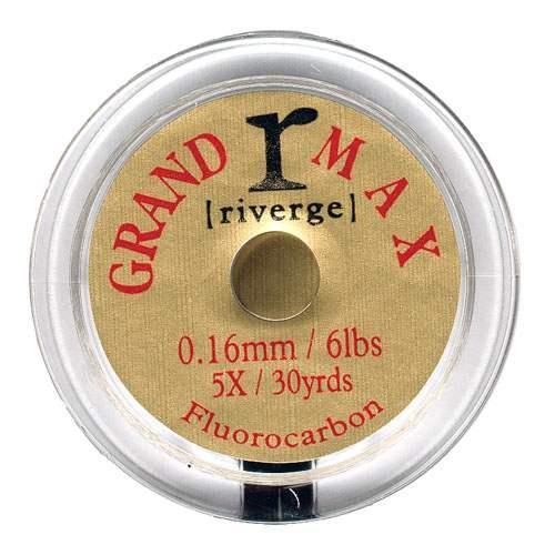 Riverge Grand Max 27.4m/91.4m Fluorcarbon für Fliegenfischen und Carp Fischen Angelsport Fliegenschnüre & -vorfächer