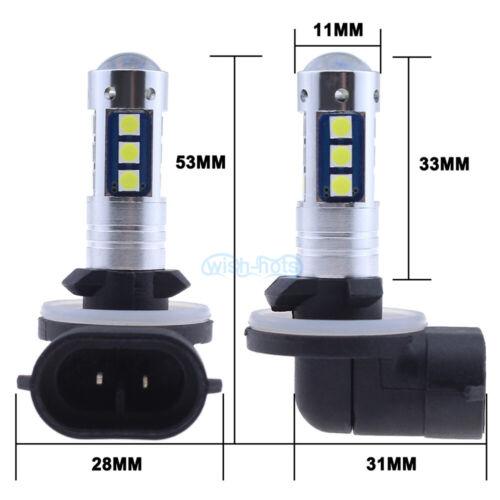 NEW 2x 3030 30SMD LED Fog Lights Bulbs Super Bright PLUG N PLAY 9005 9006 5202