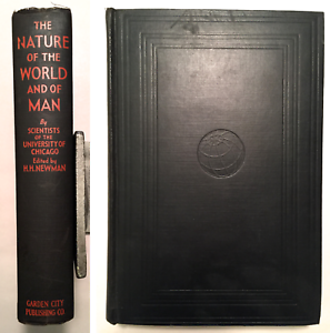 The-Nature-of-the-World-and-of-Man-H-H-Newman-Illustrated-1933-Star-Edition