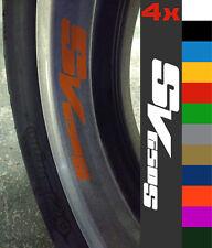 4x Suzuki SV650S SV 650 S Wheel Rim Sticker Decal Motorcycle Vinyl 750 1000 SS