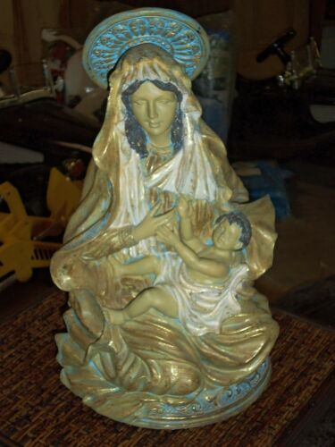 Mary /& Jesus Madonna /& Child Contemporary Catholic Resin Statue