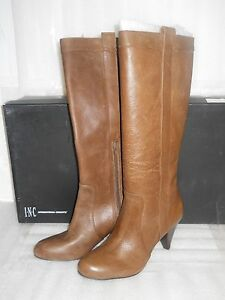 6652bcf2512 Image is loading INC-International-Concepts-New-Womens-Trisha-Brown-Leather-
