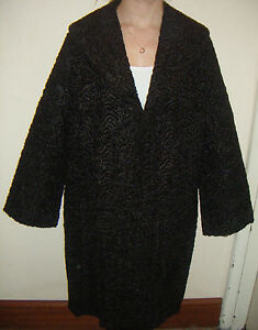 Astra-Furs-Vintage-Coat-1940s-1950s-Beautiful-Condition-Size-14-16