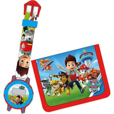 Kreativ Kinder Uhr Und Brieftasche Set Disney Armbanduhr Geldbörse Portomonai