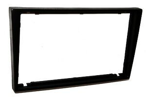 Facade-cadre-adaptateur-cache-noir-autoradio-2DIN-pour-Renault-Trafic-II