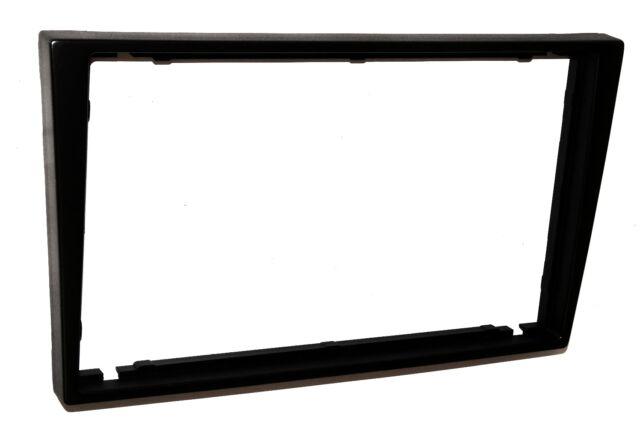 Façade cadre adaptateur cache noir autoradio 2DIN pour Opel Corsa C Meriva Omega