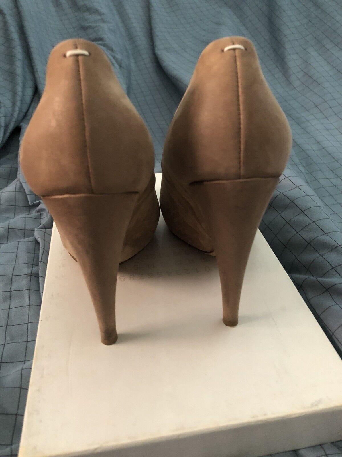 Maison Martin Margiela High Heel Leather Shoes Si… - image 2