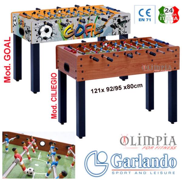 Dedito Garlando - F-1 Goal - Calciobalilla Aste Rientranti O Uscenti -garanzia Ita En71