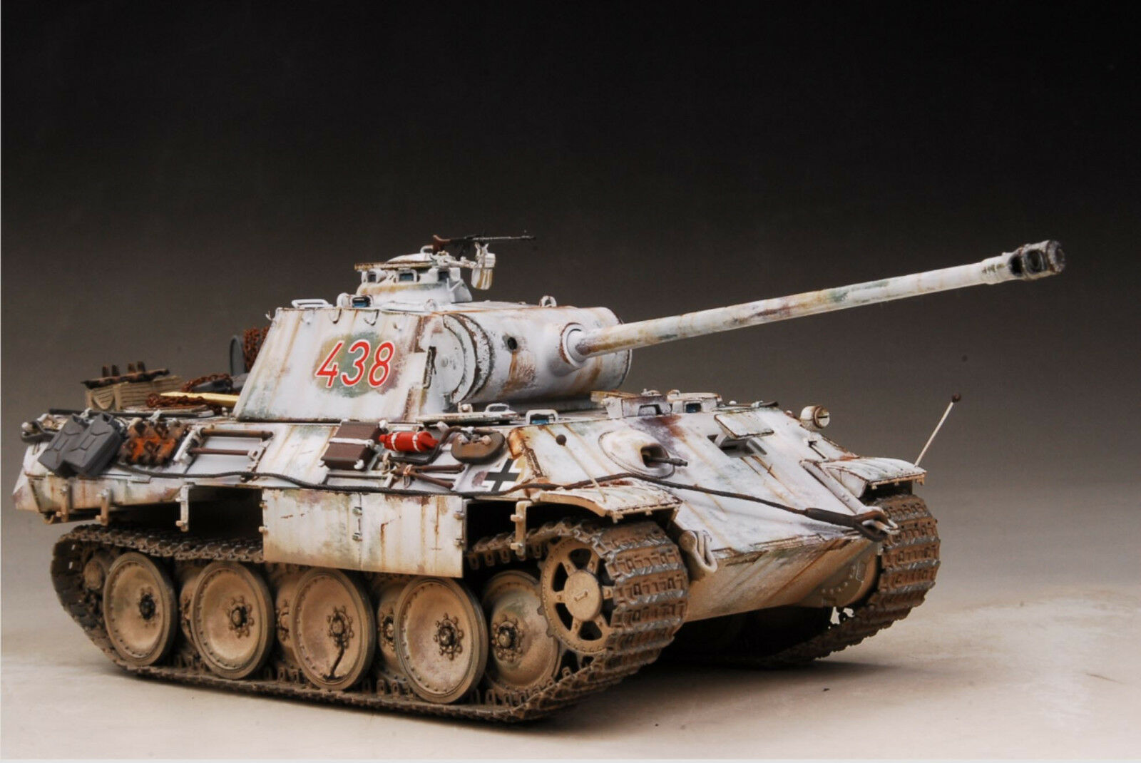 Award Winner Built 1 35 German Panzer Sd.Kfz.171 Panther A Late Pro Snow +PE