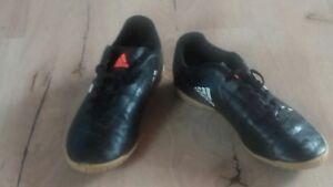 schwarz Schuhe Sneaker Hallenschuhe Jungs Adidas zu Top Größe 36 Details Adidas YE9IDWH2
