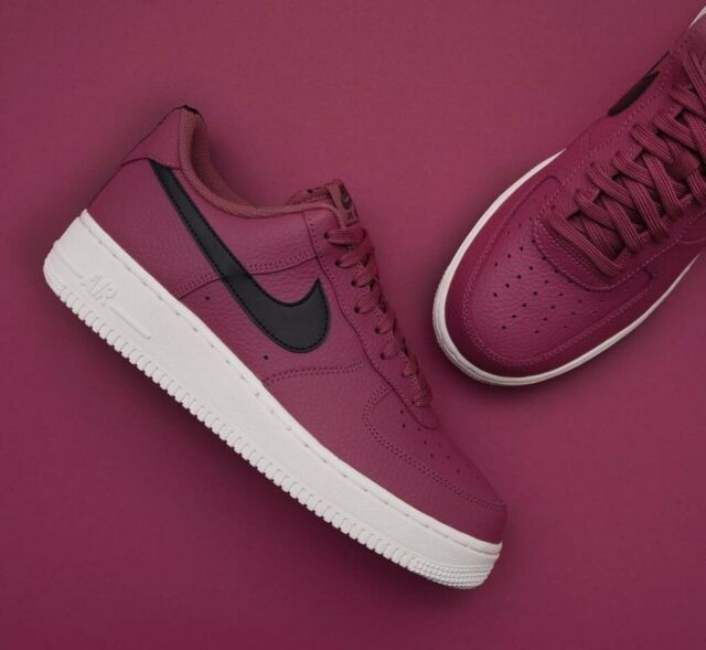 the best attitude 8c6e3 688c6 Mens Nike Air Force 1 Low Sneakers, Vintage Wine / Black AA4083-601 NEW IN  BOX