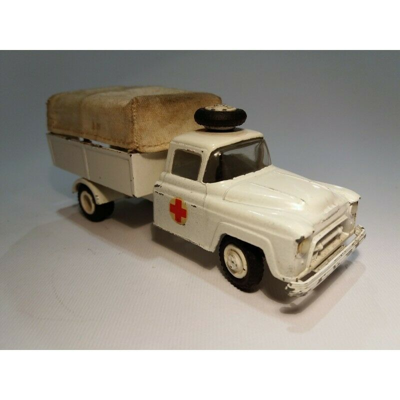 VILMER DENMARK Art.6400 CHEVROLET TRUCK (AMBULANCE) SCALA 1 50   NO BOX MC43337