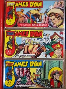 JAMES DYAN #1-42 Completa RISTAMPA ANASTATICA Collana Lancia Ed. Dardo,1960