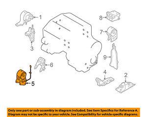 [SODI_2457]   NISSAN OEM 04-09 Quest-Engine Motor Mount Torque Strut 112708J10A | eBay | 1999 Nissan Quest Engine Diagram |  | eBay