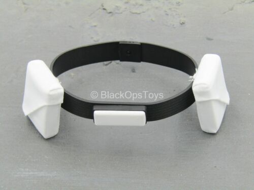 1//6 Scale Toy Star Wars-Snowtrooper-Noir Utility Belt blanc avec poches