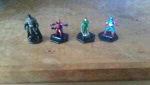 Marvel-lot-4-figures-marvel-comic-039-s-collector-captain-America-magneto-doc-ock