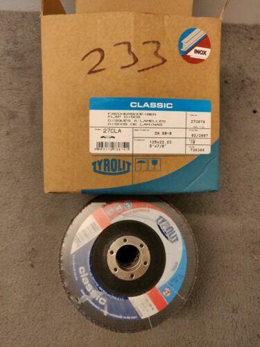 Tyrolit 27387 Diameter 125 mm Grain 80 Pack of 10