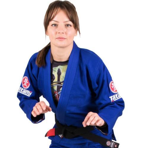 Tatami Ladies Blue Nova Minimo 2.0 BJJ Gi Brazilian Jiu Jitsu Kimono Free Belt