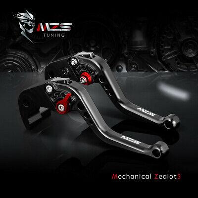 Aprilia TUONO R 2003-2010 Long Adjustable Brake /& Clutch Levers Black