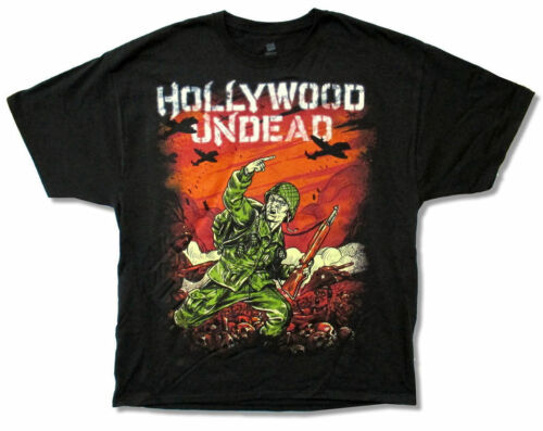 Hollywood Undead Do It For The Glory Black T Shirt New Official Band Merch