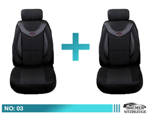 Mercedes E Klasse W124 S124  Schonbezüge Sitzbezüge Fahrer /& Beifahrer 03