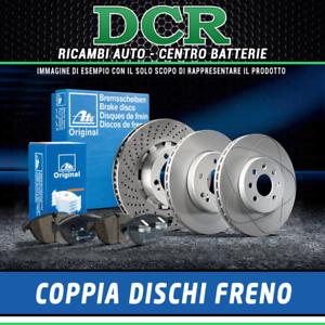 1.5 dCi 90CV 66KW Coppia Dischi Freno ATE 424253 RENAULT CAPTUR J5/_, H5/_
