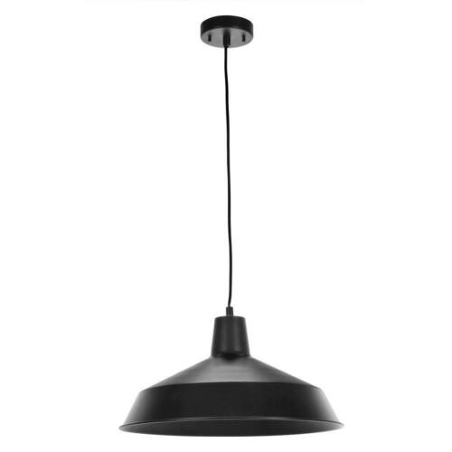 Globe Electric 65155 Pendant Lighting 16 Inch Matte Black