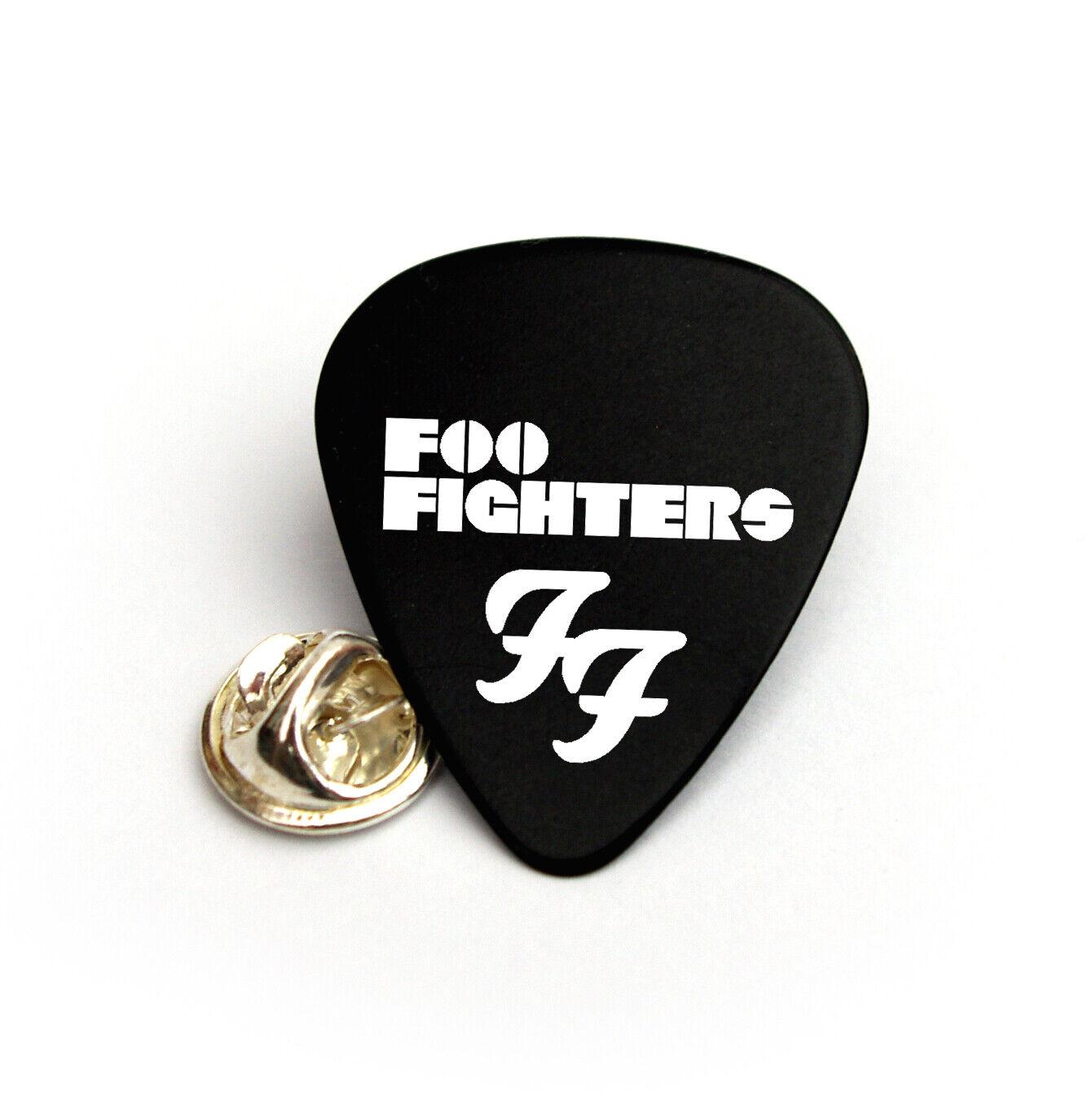 Foo Fighters printed Guitar Pick Plectrum necklace bracelet keyring BWo