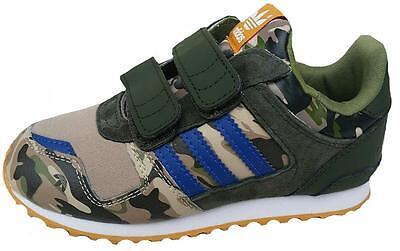 Adidas Infants DINOSAUR ZX 700 Comfort Trainer M20988 Camo UK 4-9.5k Boxed