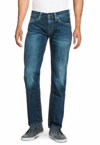 PEPE JEANS Herren Jeans Hose 5 Pocket Denim Regular Fit Größe 30//34