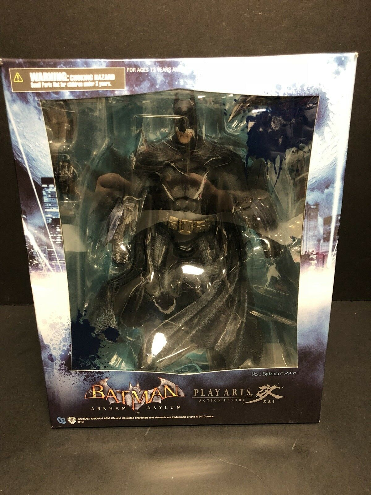 Square Enix Play Arts Batman Arkham Asylum Figure EM0825