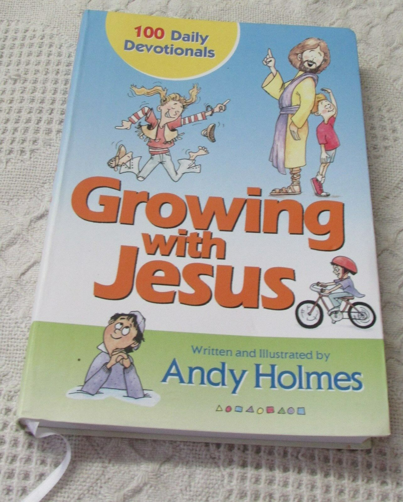 Growing with Jesus : 100 Daily Devotionals by Andy Holmes (2006, Paperback)  | eBay