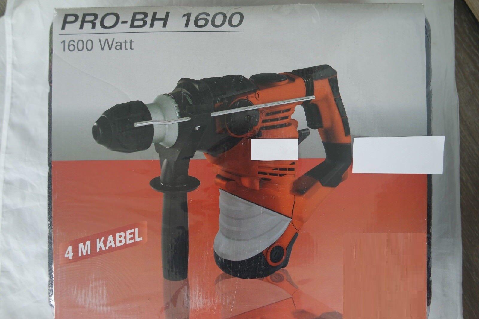 Bohrhammer Pro-BH 900 4 meter Kabel