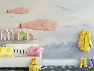 3D Rosa Flamingo M2624 Tapete Wandbild Selbstklebend Abnehmbare Aufkleber Amy