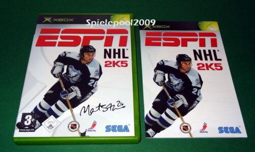 1 von 1 - ESPN NHL 2K5 GUTER ZUSTAND fuer Microsoft Xbox mit Anleitung und OVP
