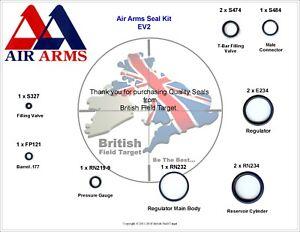 Full-Premium-Seal-Service-kit-Fits-AirArms-EV2-New-Kit-177-Cal