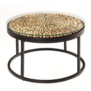 Treibholz Tisch Drift Rund Couchtisch Wohnzimmertisch Holz Holztisch