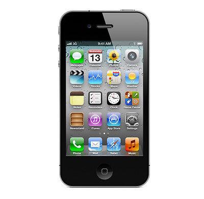 APPLE IPHONE 4 32GB - SCHWARZ - OHNE SIMLOCK - OHNE VERTRAG - TOP SMARTPHONE