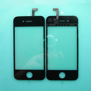 New-Touch-Screen-Digitizer-Glass-LCD-Lens-Panel-Replacement-For-iPhone-4S-Black