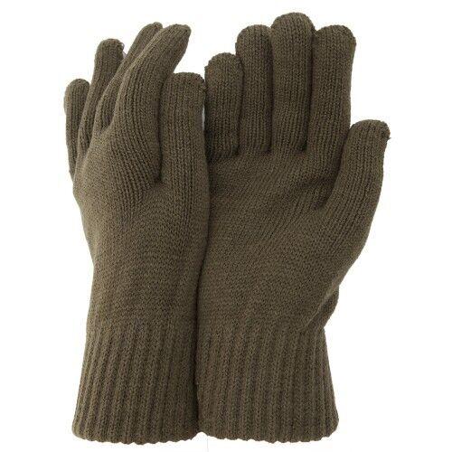 Knitted Gloves Olive or Black