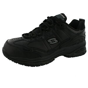 17012a354203e Details about MEN'S SKECHERS SOFT STRIDE-CHATHAM COMPOSITE SAFETY TOE WIDE  WIDTH WORK SHOES