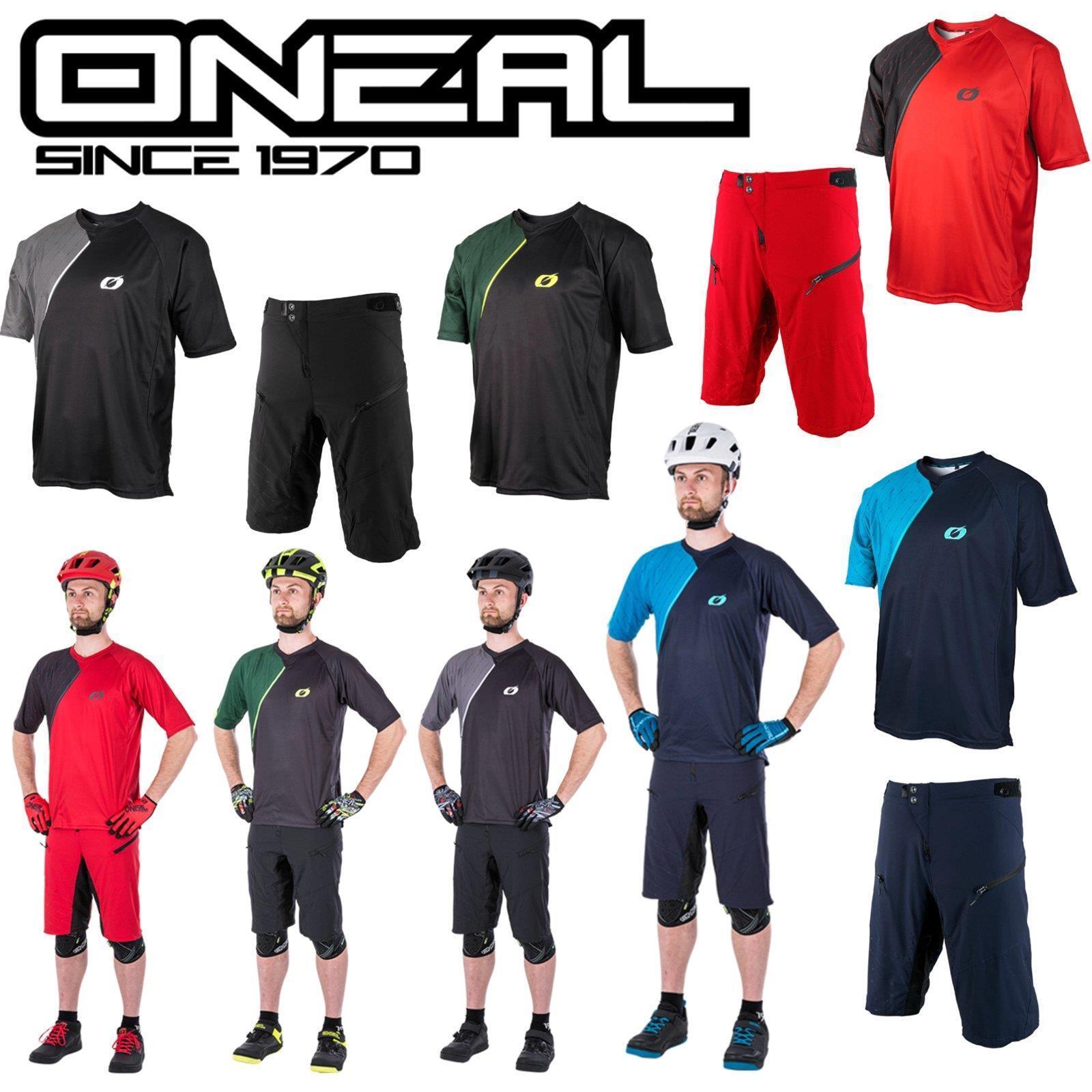 ONeal Pin IT Jersey Shorts Fahrrad Shirt Hose Mountainbike MTB Trikot Downhill