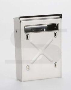 Cassetta Posta Postale Per Cancello Bifacciale Inox 22l X 30 5h X