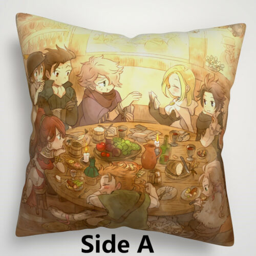 Octopath Traveler Anime Two Sides Pillow Cushion Case Cover