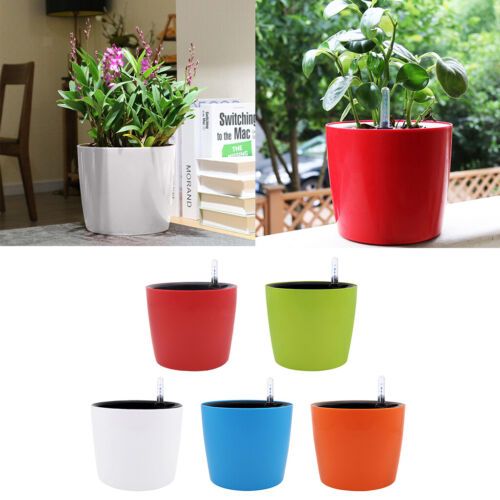 7/'/' Height Self Watering Planter for All House Plants Flowers Herb Succulent