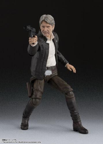 Bandai S.H STAR WARS: la forza si sveglia Figuarts Han Solo Giappone Versione