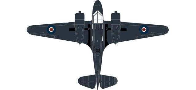 Airspeed PH 185 778 Sqn.Fleet Air Arm 1 72 Oxford